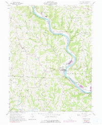 Download a high-resolution, GPS-compatible USGS topo map for Stockport, OH (1991 edition)