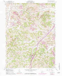 Download a high-resolution, GPS-compatible USGS topo map for Stone Creek, OH (1984 edition)