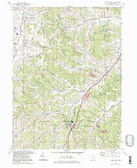 Download a high-resolution, GPS-compatible USGS topo map for Stone Creek, OH (1998 edition)