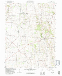 Download a high-resolution, GPS-compatible USGS topo map for Stoutsville, OH (1995 edition)