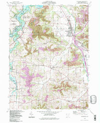 Download a high-resolution, GPS-compatible USGS topo map for Strasburg, OH (1998 edition)