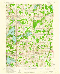 Download a high-resolution, GPS-compatible USGS topo map for Suffield, OH (1961 edition)