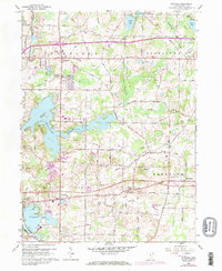 Download a high-resolution, GPS-compatible USGS topo map for Suffield, OH (1971 edition)