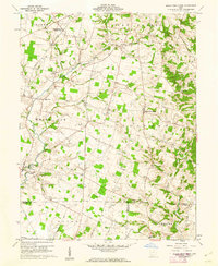 Download a high-resolution, GPS-compatible USGS topo map for Sugar Tree Ridge, OH (1974 edition)