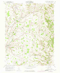Download a high-resolution, GPS-compatible USGS topo map for Sugar Tree Ridge, OH (1975 edition)