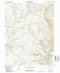 Download a high-resolution, GPS-compatible USGS topo map for Sugar Tree Ridge, OH (1987 edition)