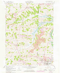 Download a high-resolution, GPS-compatible USGS topo map for Sugarcreek, OH (1978 edition)