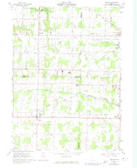 Download a high-resolution, GPS-compatible USGS topo map for Sullivan, OH (1974 edition)