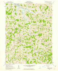 Download a high-resolution, GPS-compatible USGS topo map for Summerfield, OH (1963 edition)