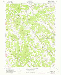 Download a high-resolution, GPS-compatible USGS topo map for Summithill, OH (1976 edition)