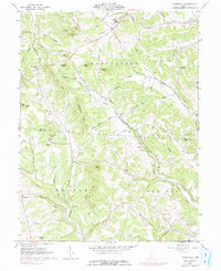 Download a high-resolution, GPS-compatible USGS topo map for Summithill, OH (1991 edition)