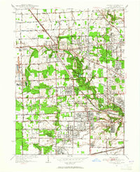 Download a high-resolution, GPS-compatible USGS topo map for Sylvania, OH (1952 edition)