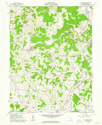 Download a high-resolution, GPS-compatible USGS topo map for The Plains, OH (1962 edition)