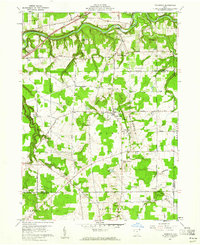 Download a high-resolution, GPS-compatible USGS topo map for Thompson, OH (1961 edition)