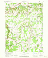 Download a high-resolution, GPS-compatible USGS topo map for Thompson, OH (1968 edition)