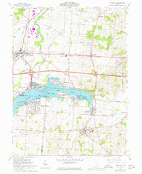 Download a high-resolution, GPS-compatible USGS topo map for Thornville, OH (1977 edition)