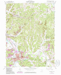 Download a high-resolution, GPS-compatible USGS topo map for Uhrichsville, OH (1985 edition)