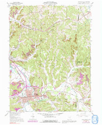 Download a high-resolution, GPS-compatible USGS topo map for Uhrichsville, OH (1992 edition)