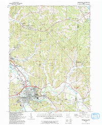 Download a high-resolution, GPS-compatible USGS topo map for Uhrichsville, OH (1993 edition)