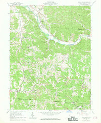 Download a high-resolution, GPS-compatible USGS topo map for Union Furnace, OH (1970 edition)