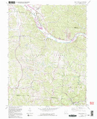 Download a high-resolution, GPS-compatible USGS topo map for Union Furnace, OH (1995 edition)