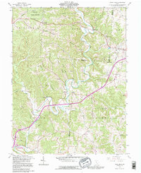 Download a high-resolution, GPS-compatible USGS topo map for Vales Mills, OH (1995 edition)