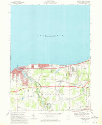 Download a high-resolution, GPS-compatible USGS topo map for Vermilion East, OH (1971 edition)