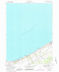 Download a high-resolution, GPS-compatible USGS topo map for Vermilion West, OH (1988 edition)