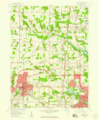 Download a high-resolution, GPS-compatible USGS topo map for Wadsworth, OH (1959 edition)