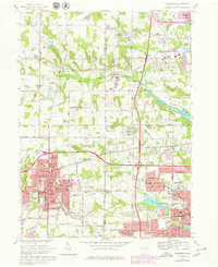 Download a high-resolution, GPS-compatible USGS topo map for Wadsworth, OH (1979 edition)