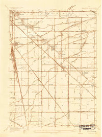 Download a high-resolution, GPS-compatible USGS topo map for Walbridge, OH (1935 edition)