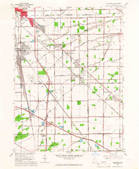 Download a high-resolution, GPS-compatible USGS topo map for Walbridge, OH (1966 edition)