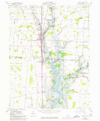 Download a high-resolution, GPS-compatible USGS topo map for Waldo, OH (1974 edition)