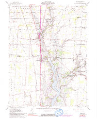 Download a high-resolution, GPS-compatible USGS topo map for Waldo, OH (1991 edition)