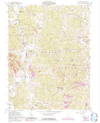 Download a high-resolution, GPS-compatible USGS topo map for Waterloo, OH (1992 edition)