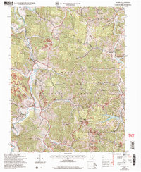 Download a high-resolution, GPS-compatible USGS topo map for Waterloo, OH (2006 edition)