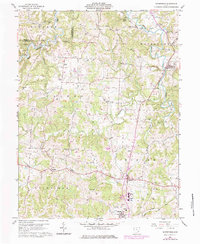 Download a high-resolution, GPS-compatible USGS topo map for Watertown, OH (1984 edition)