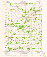 Download a high-resolution, GPS-compatible USGS topo map for Watson, OH (1961 edition)