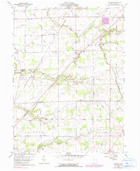 Download a high-resolution, GPS-compatible USGS topo map for Watson, OH (1990 edition)