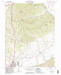Download a high-resolution, GPS-compatible USGS topo map for Waverly North, OH (1995 edition)