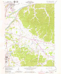 Download a high-resolution, GPS-compatible USGS topo map for Waverly South, OH (1979 edition)