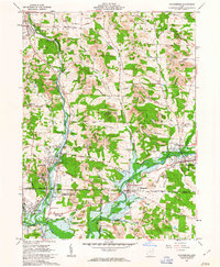 Download a high-resolution, GPS-compatible USGS topo map for Waynesburg, OH (1963 edition)