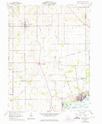 Download a high-resolution, GPS-compatible USGS topo map for Waynesfield, OH (1975 edition)