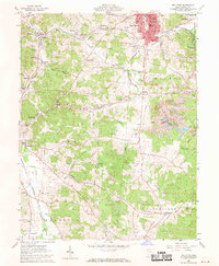 Download a high-resolution, GPS-compatible USGS topo map for Wellston, OH (1970 edition)
