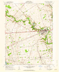 Download a high-resolution, GPS-compatible USGS topo map for West Jefferson, OH (1962 edition)