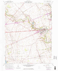 Download a high-resolution, GPS-compatible USGS topo map for West Jefferson, OH (1974 edition)