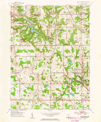 Download a high-resolution, GPS-compatible USGS topo map for West Richfield, OH (1955 edition)