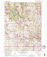 Download a high-resolution, GPS-compatible USGS topo map for West Richfield, OH (1980 edition)