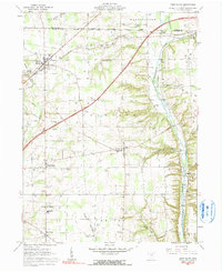 Download a high-resolution, GPS-compatible USGS topo map for West Salem, OH (1991 edition)