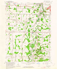 Download a high-resolution, GPS-compatible USGS topo map for West View, OH (1964 edition)